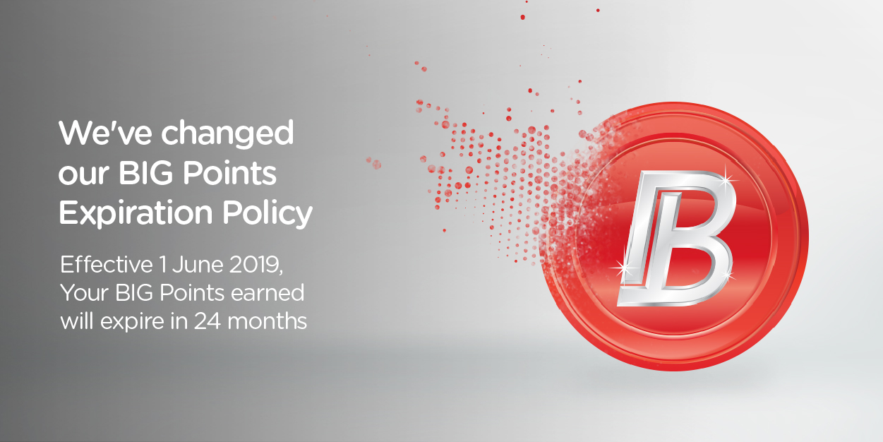 Newly Earned AirAsia BIG Points Will Expire After 24 Months